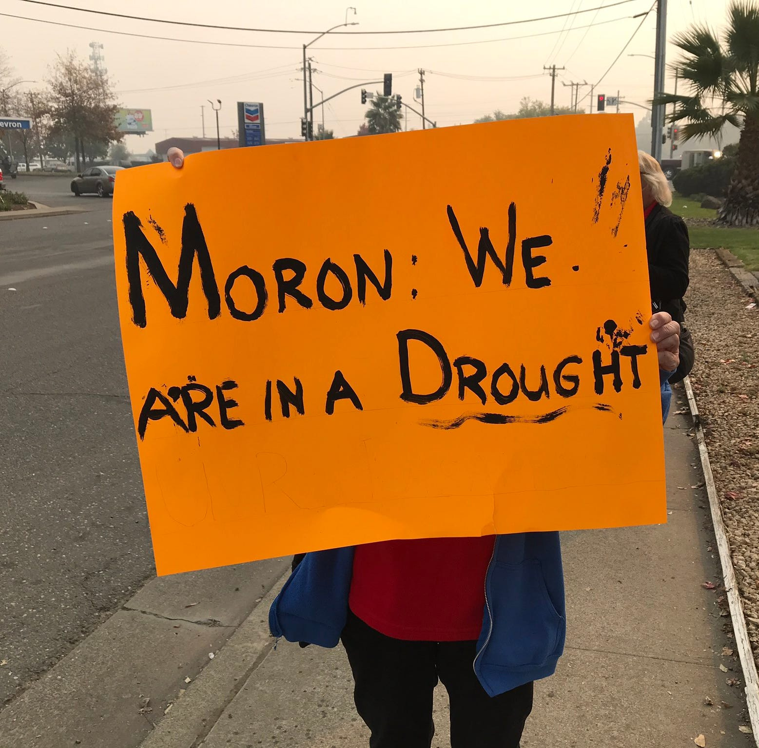 From 'moron' to 'true Christian': Protesters and supporters greet Trump in Chico