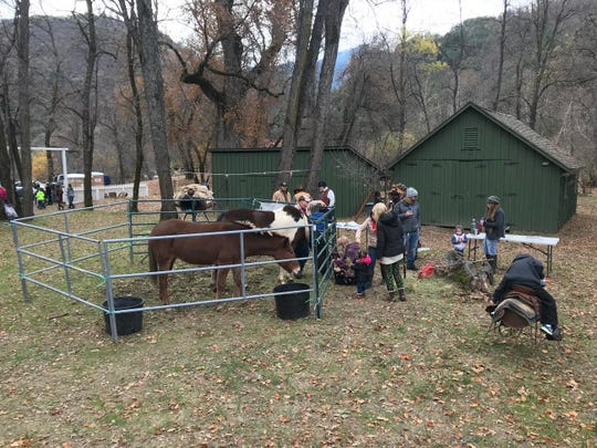 Activities at Whiskeytown National Recreation Area during the Annual 'Old Time Holiday' in 2017. While usually a joint effort, this year all events will meet at Shasta State Historic Park.