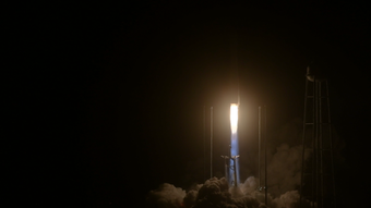 Watch the NG-10 rocket successfully launch out of NASA's Wallops Island spaceport early Saturday morning.