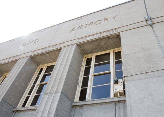 The exterior of the Sheboygan Armory as seen Tuesday September 19, 2017 in Sheboygan, Wis.