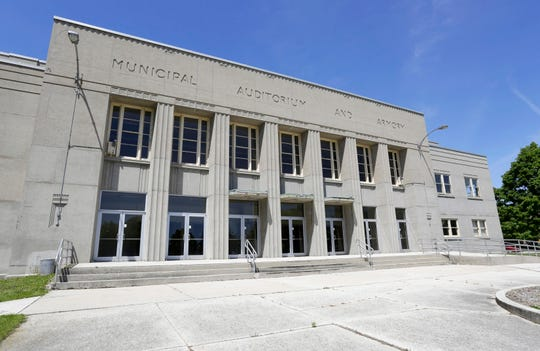 The Sheboygan Armory as seen Wednesday June 8, 2016 in Sheboygan. Sheboygan was among several Midwestern cities vying to land new Bucks D-League team and the Armory have a second life.