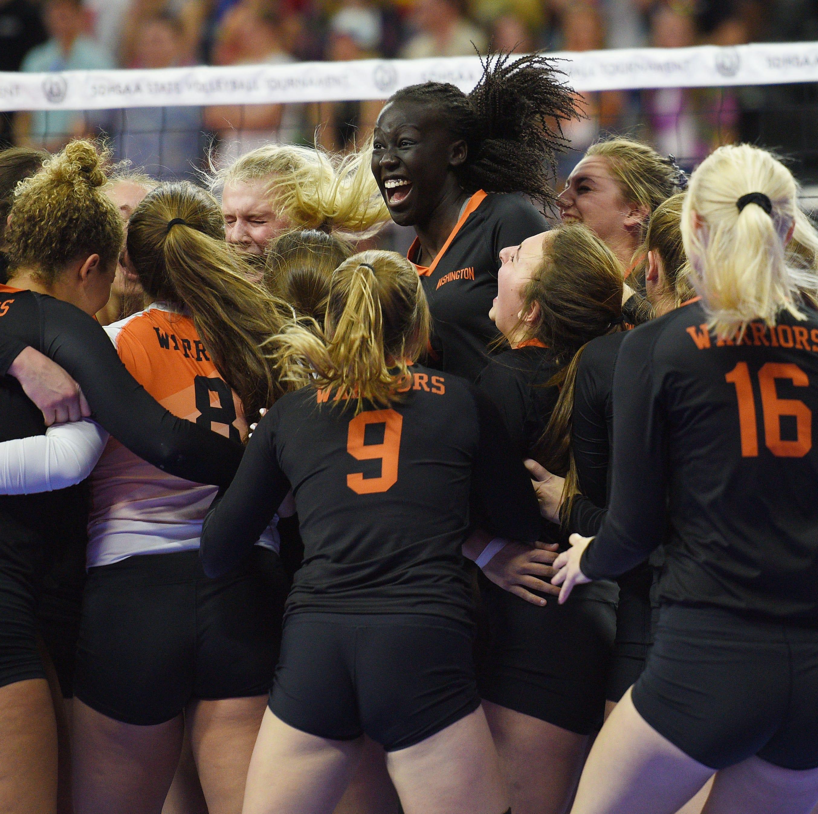 Third time's the charm: No. 2 Washington sweeps No. 3 O'Gorman to reach state final