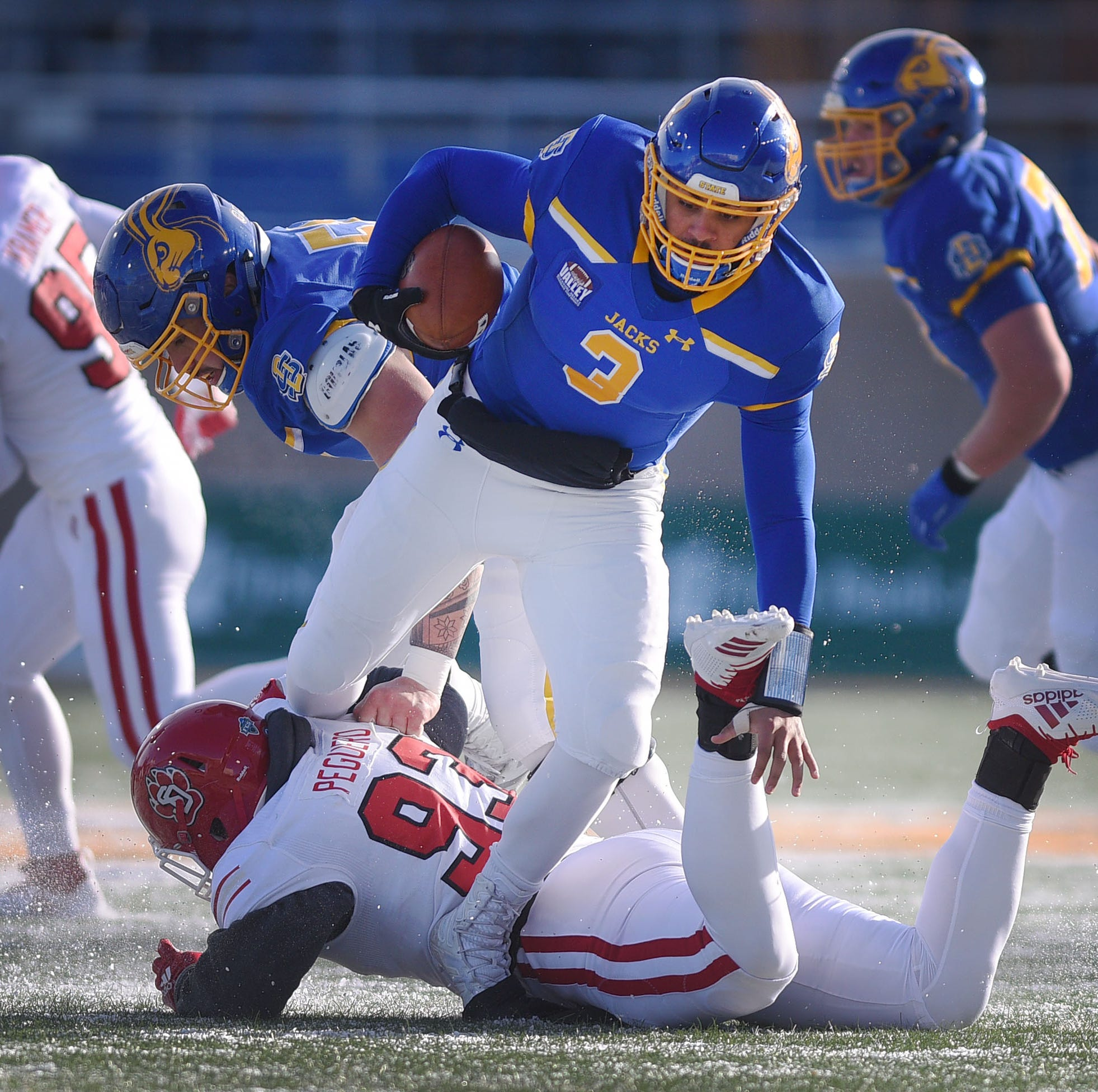 South Dakota State likely secures playoff bye with win over South Dakota