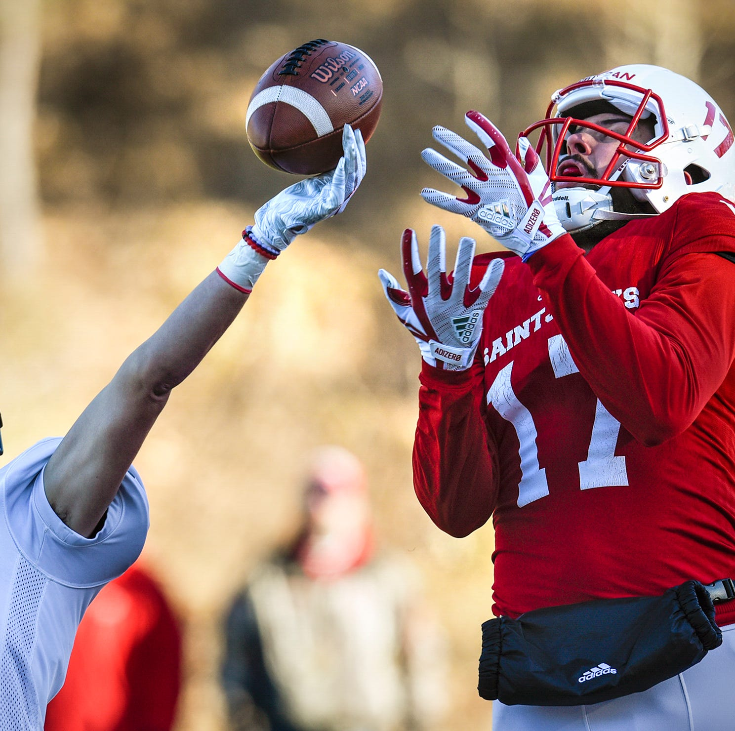 Johnnies do some damage to record book in 84-6 playoff win