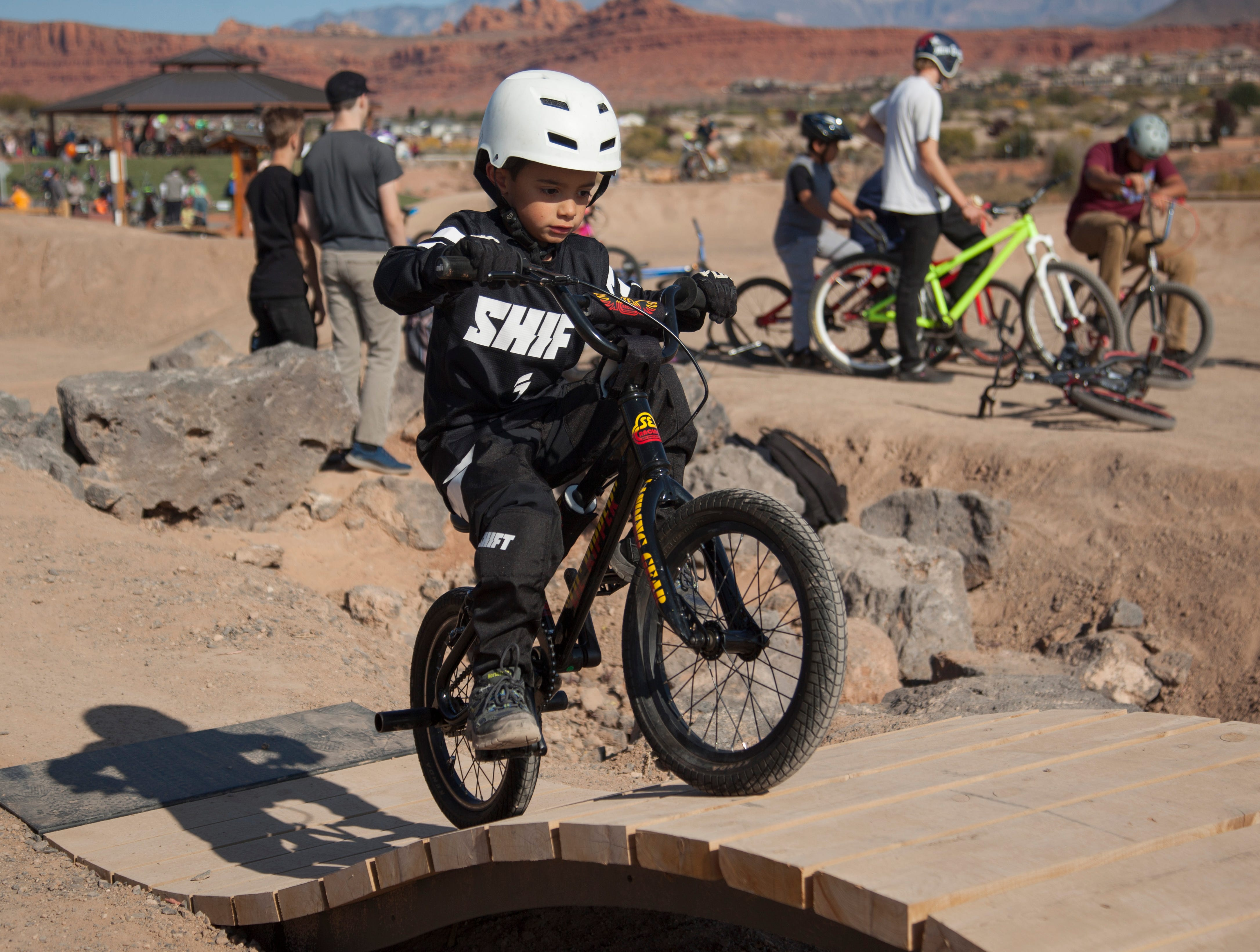 Snake Hollow Bike Park in St. George is designed to help cyclists develop skills in a safe environment.