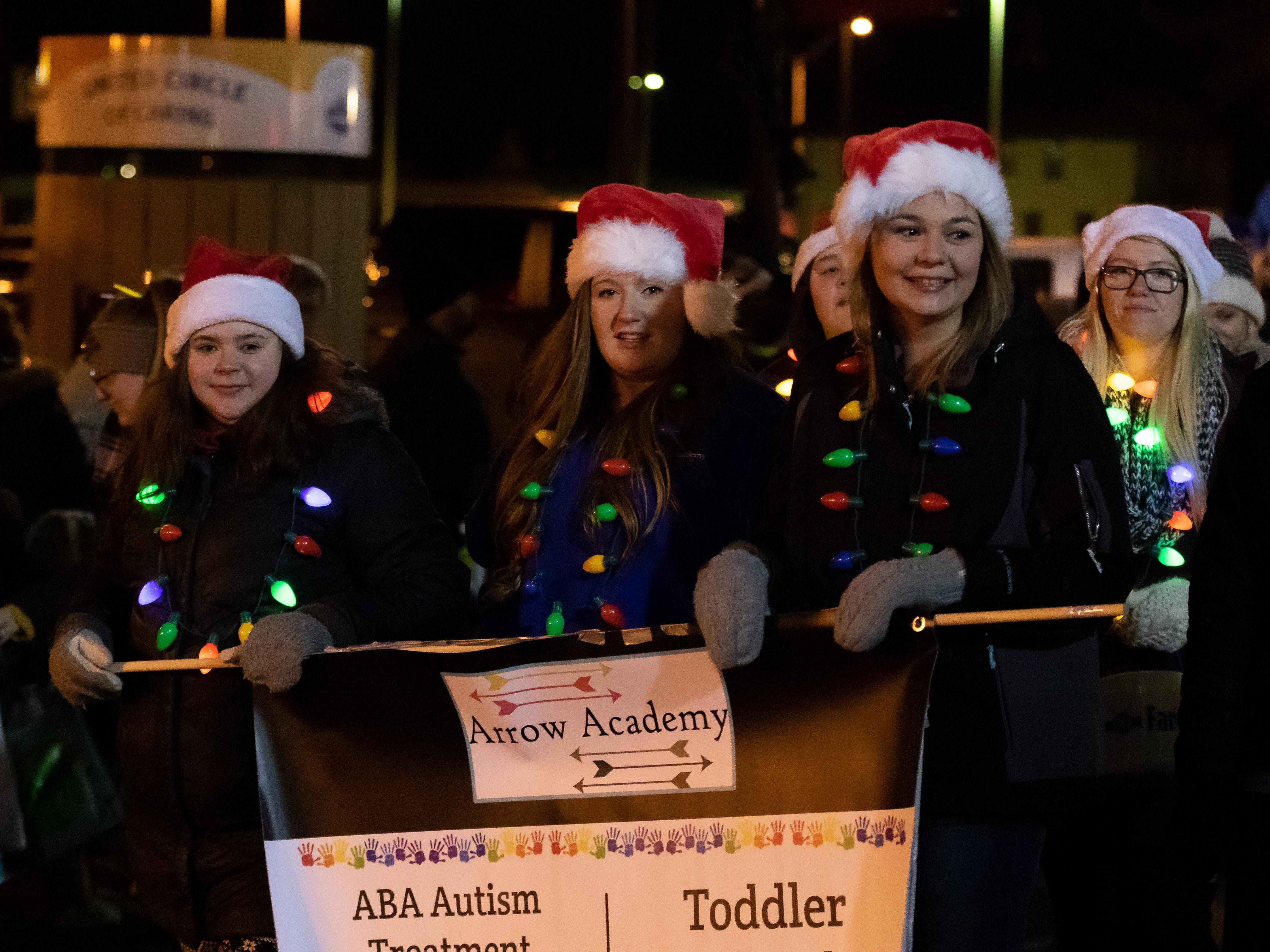 The Holiday Parade was held Friday, Nov. 16, 2018, in downtown Stevens Point.