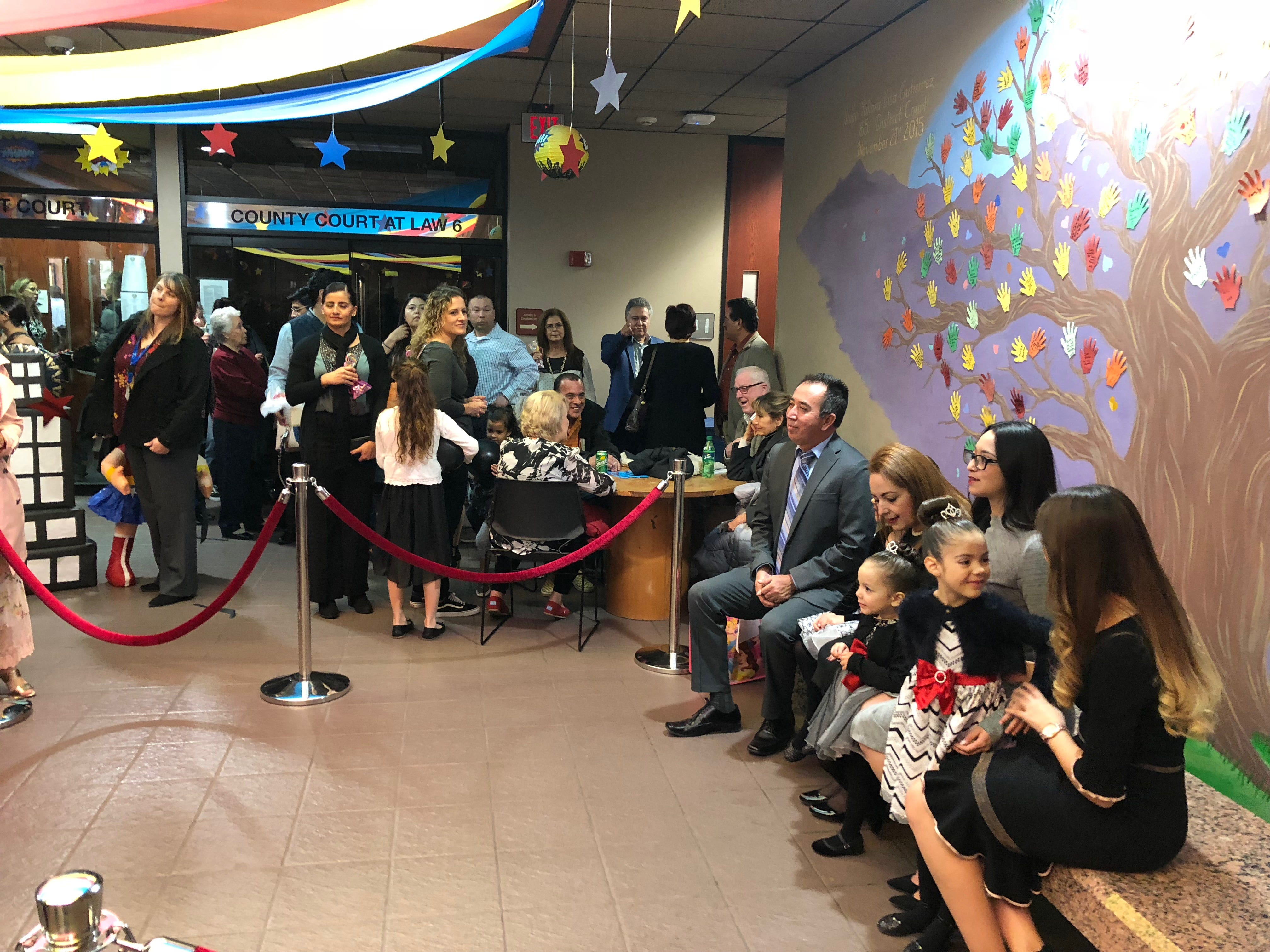 A National Adoption Day event was held Saturday, Nov. 17, 2018, at the El Paso County Courthouse. A total of 29 children were officially adopted by 12 El Paso families.
