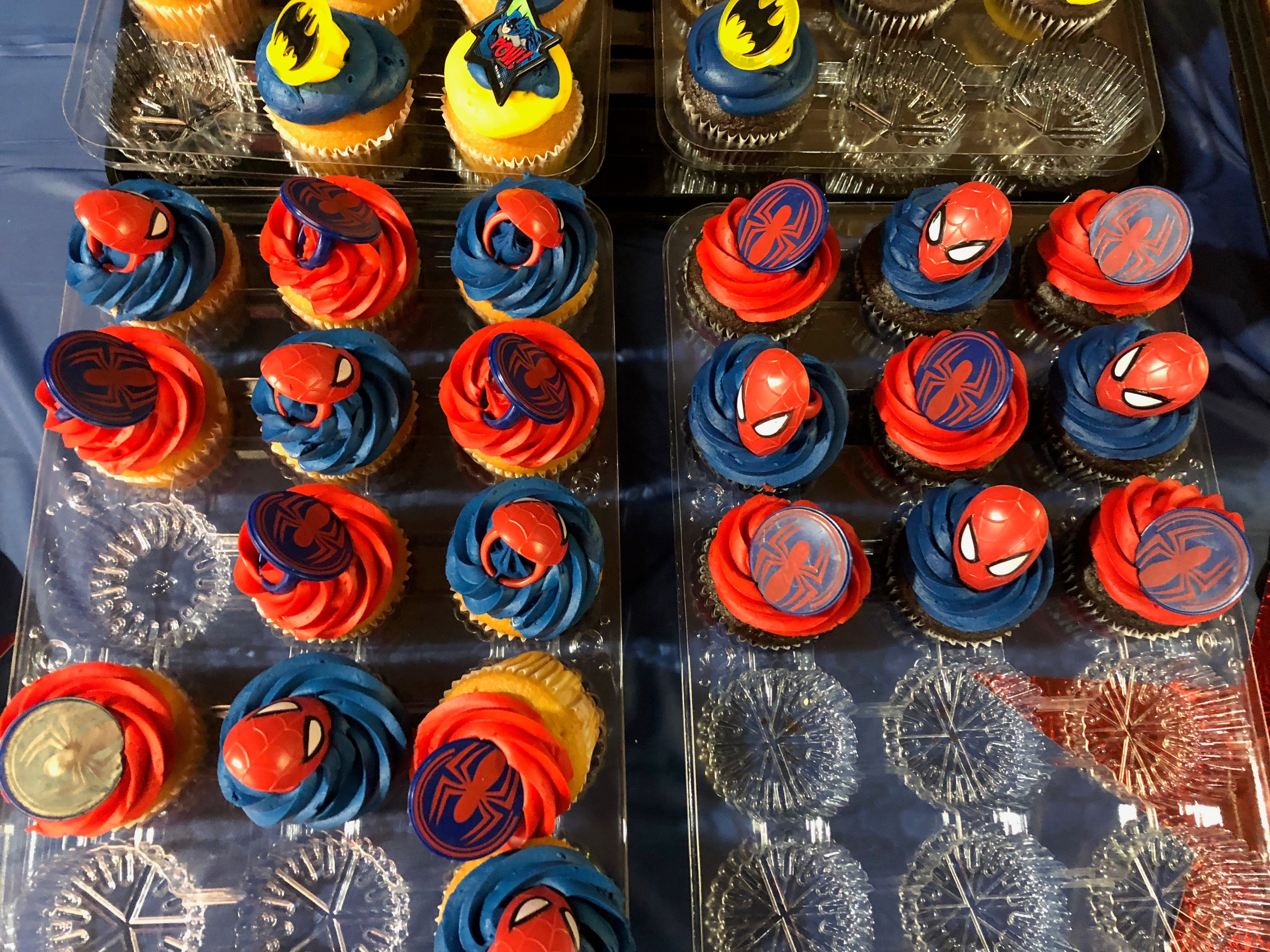 Colorful cupcakes greeted people taking part at the National Adoption Day event Saturday, Nov. 17, 2018, at the El Paso County Courthouse. A total of 29 children were officially adopted by 12 El Paso families.