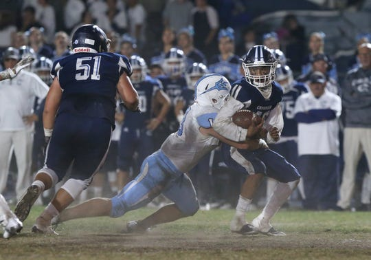 Jesse Valenzuela returns for Camarillo High, giving the Scorpions a dynamic running back to help lead the offense.