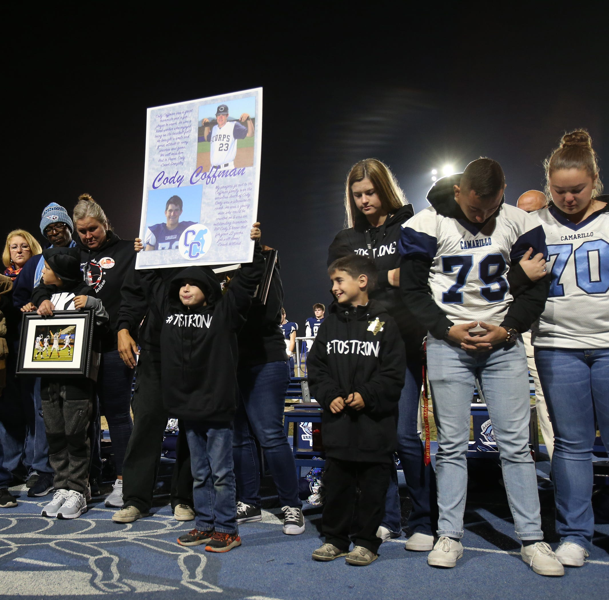 Emotional night ends with a semifinal loss for Camarillo football team