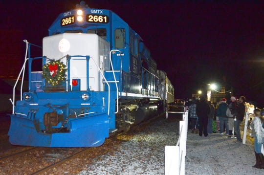 Join Santa on the Santa Express offered by Cape May Seashore Lines.