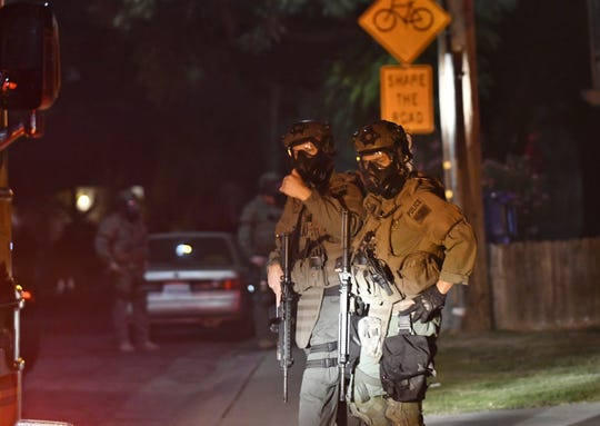 Multiple law enforcement agencies were involved in what was a two-hour standoff at a Visalia apartment complex.