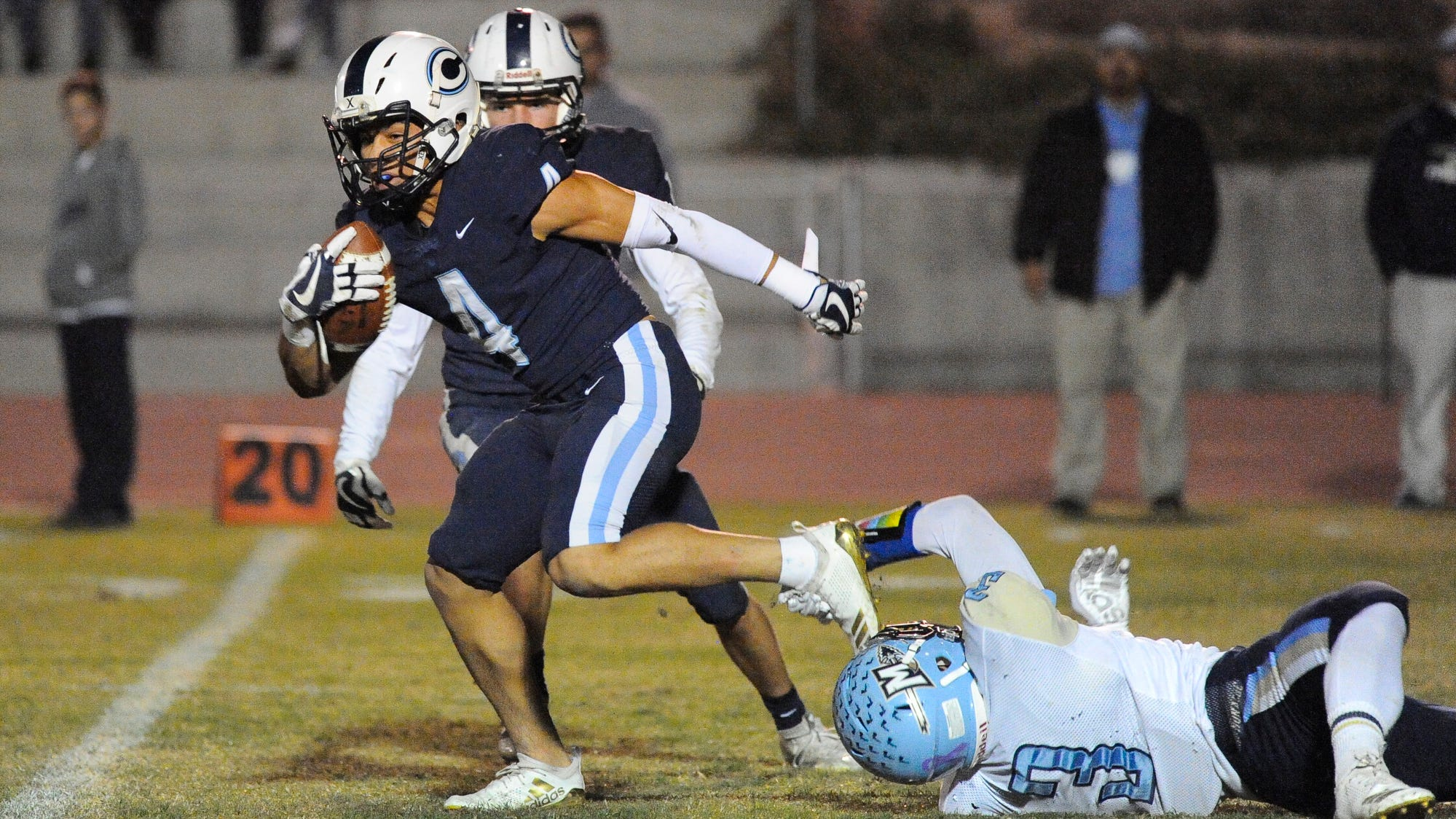 CVC scored nine touchdowns in the first half. Find out how.