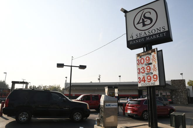 Though a record number travelers will  hit the road this Thanksgiving season, they can be thankful for one thing: plummeting gas prices.