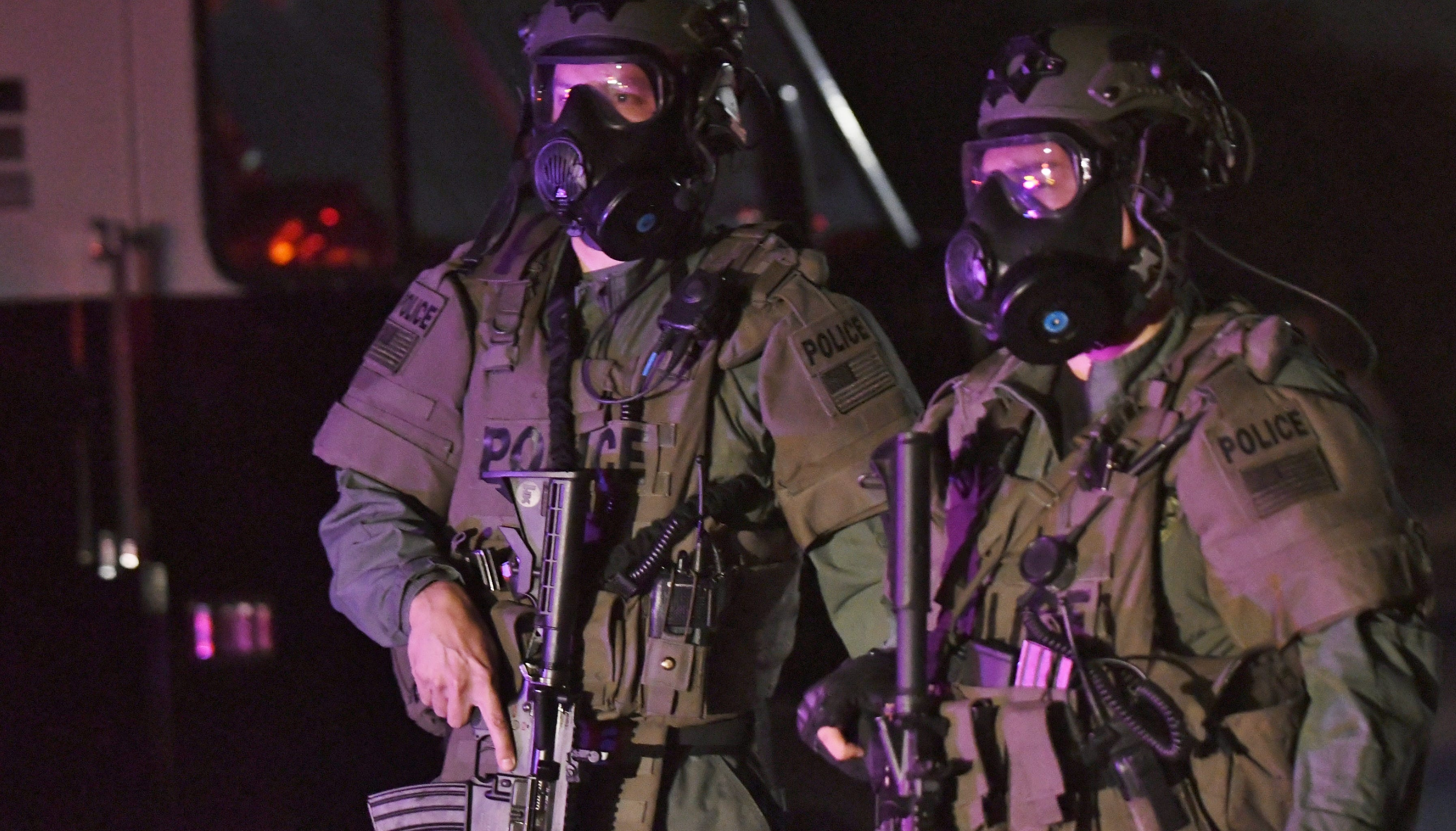 Multiple law enforcement agencies were involved in what was a two-hour standoff at a Visalia apartment complex on Friday night.