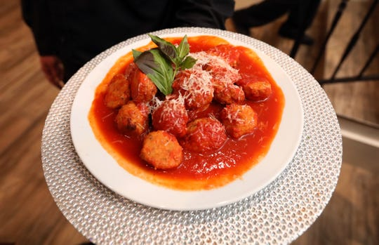 Chicken meatballs at Joe and Joe in Nyack; the restaurant is a first-time participant in Hudson Valley Restaurant Week.