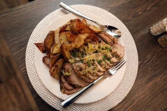 Rosemary pork tenderloin at Joe & Joe in Nyack Nov. 16, 2018.