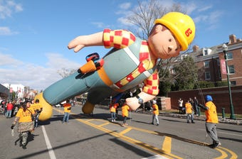 Sights and sounds from the New Rochelle 55th Annual Thanksgiving Parade held Nov. 17, 2018.