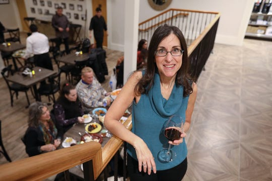 Where will the next Dinner with Jeanne be? Watch lohud for up to date details. Here, lohud dining reporter Jeanne Muchnick poses at Joe & Joe in Nyack on Nov. 16, 2018.