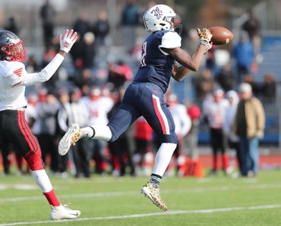 Kennedy Catholic drops the CHSFL Class 'A' Championship Game to Cardinal Spellman 19-12 at Mitchel Field Complex in Uniondale on Saturday, November 17, 2018.
