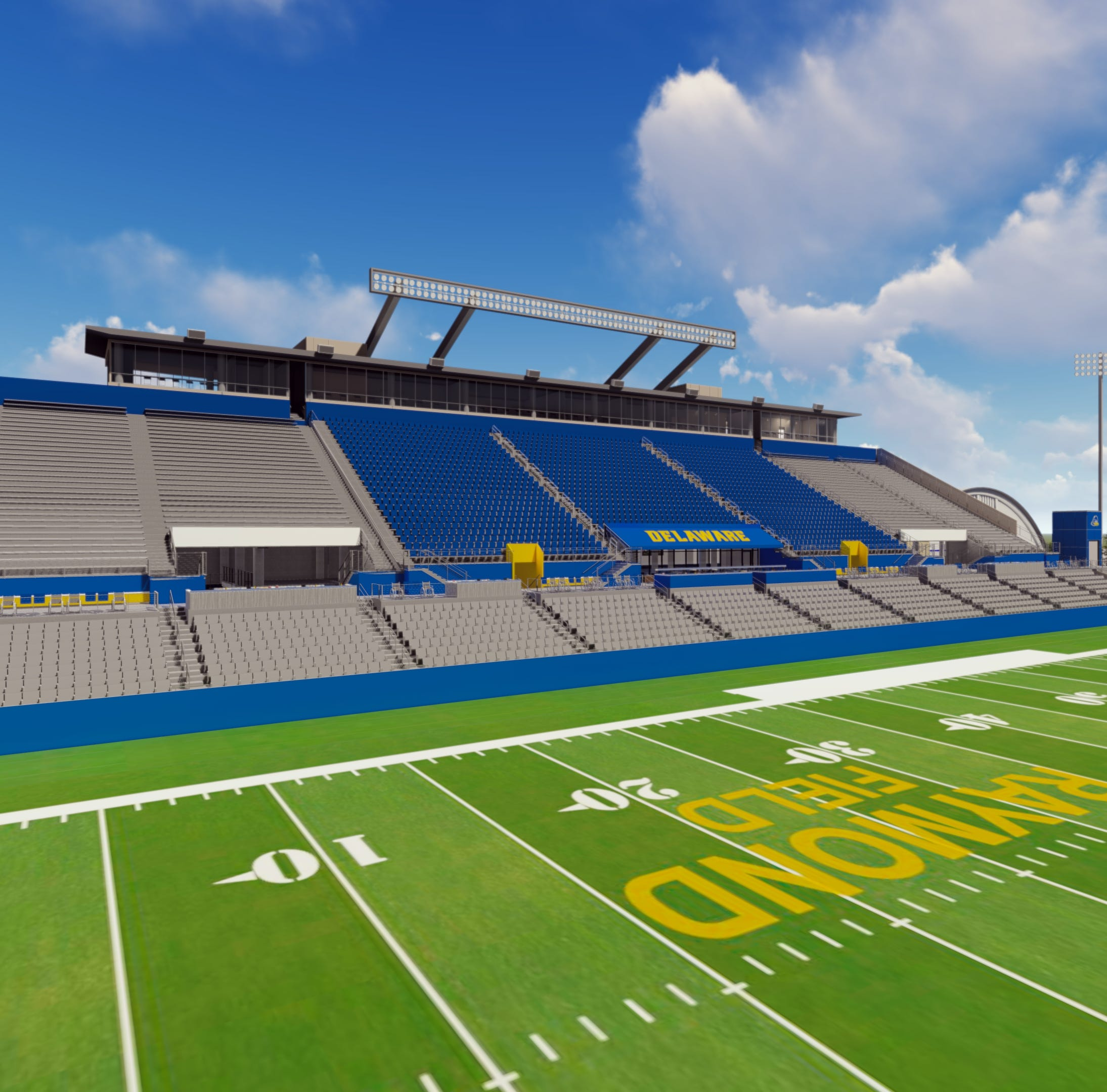 Delaware Stadium renovations set to begin when football season ends