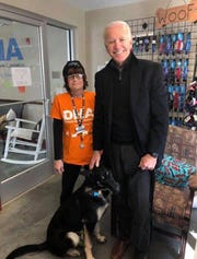 Joe Biden adopts a dog
