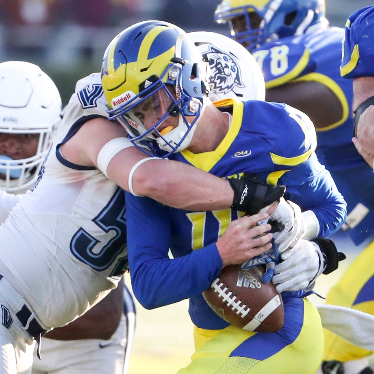 Delaware football: Villanova keeps curse alive, trounces Blue Hens