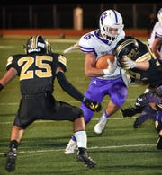 Jacksboro running back Ethan Fudge and the Tigers are shooting for their sixth straight win Friday against Buffalo.