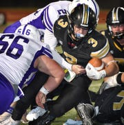 Henrietta's Mason Marchman is one of 13 area standouts who will play in Saturday's Greenbelt Bowl in Childress.