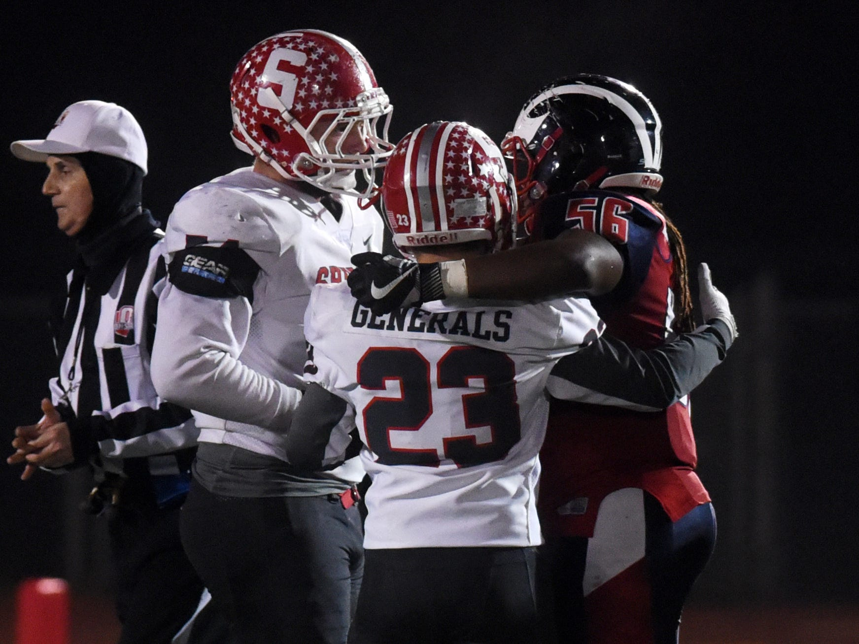 Sheridan fell, 20-14, to Columbus Eastmoor Academy in a Division III, Region 11 final on Friday night in Lancaster.