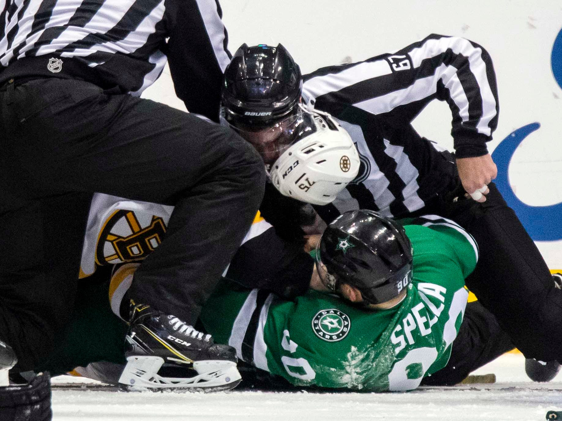 Nov. 16: Dallas Stars' Jason Spezza vs.  Boston Bruins' Connor Clifton