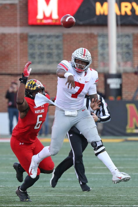 Usp Ncaa Football Ohio State At Maryland S Fbc Umd Ohi Usa Md