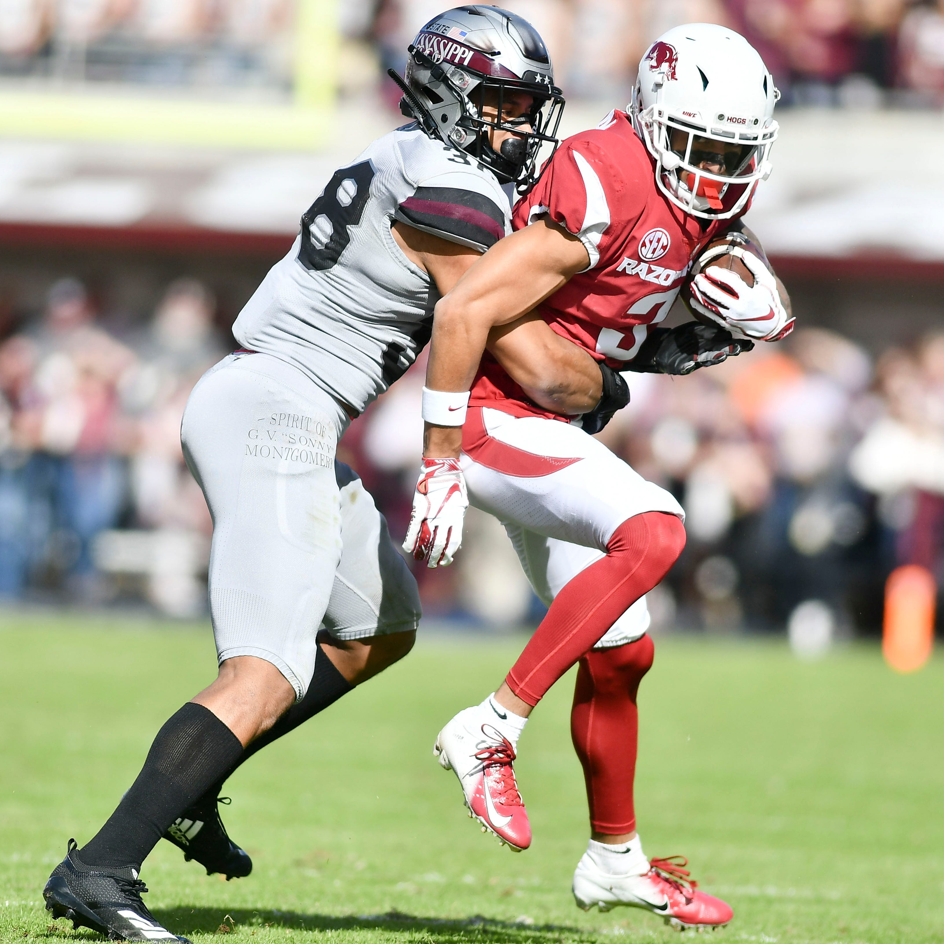 Abram adjusts to STAR safety, shines on Mississippi State senior day