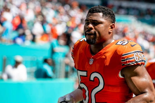 Nfl Chicago Bears At Miami Dolphins