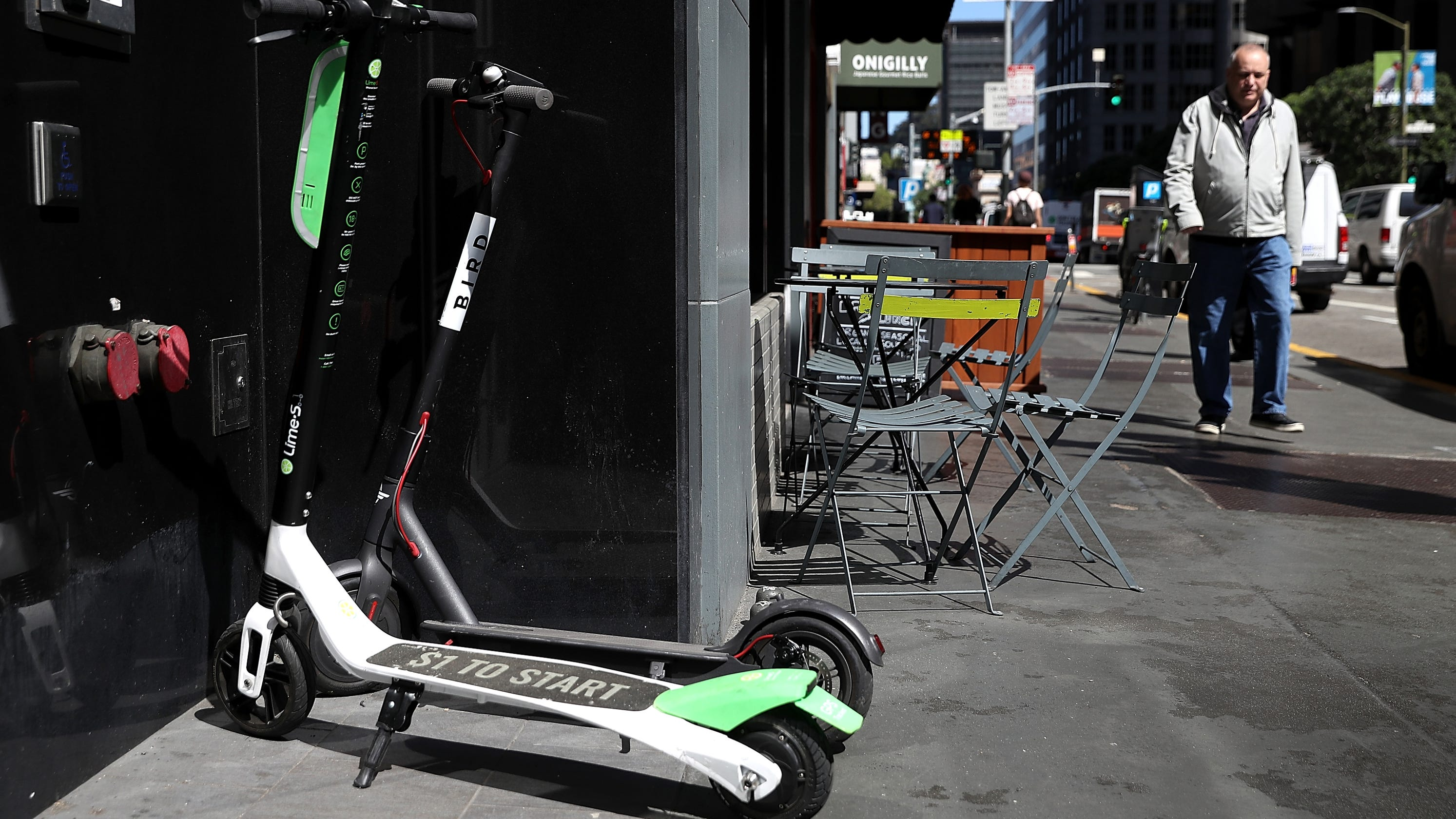 electric scooters driving city leaders pedestrians mad