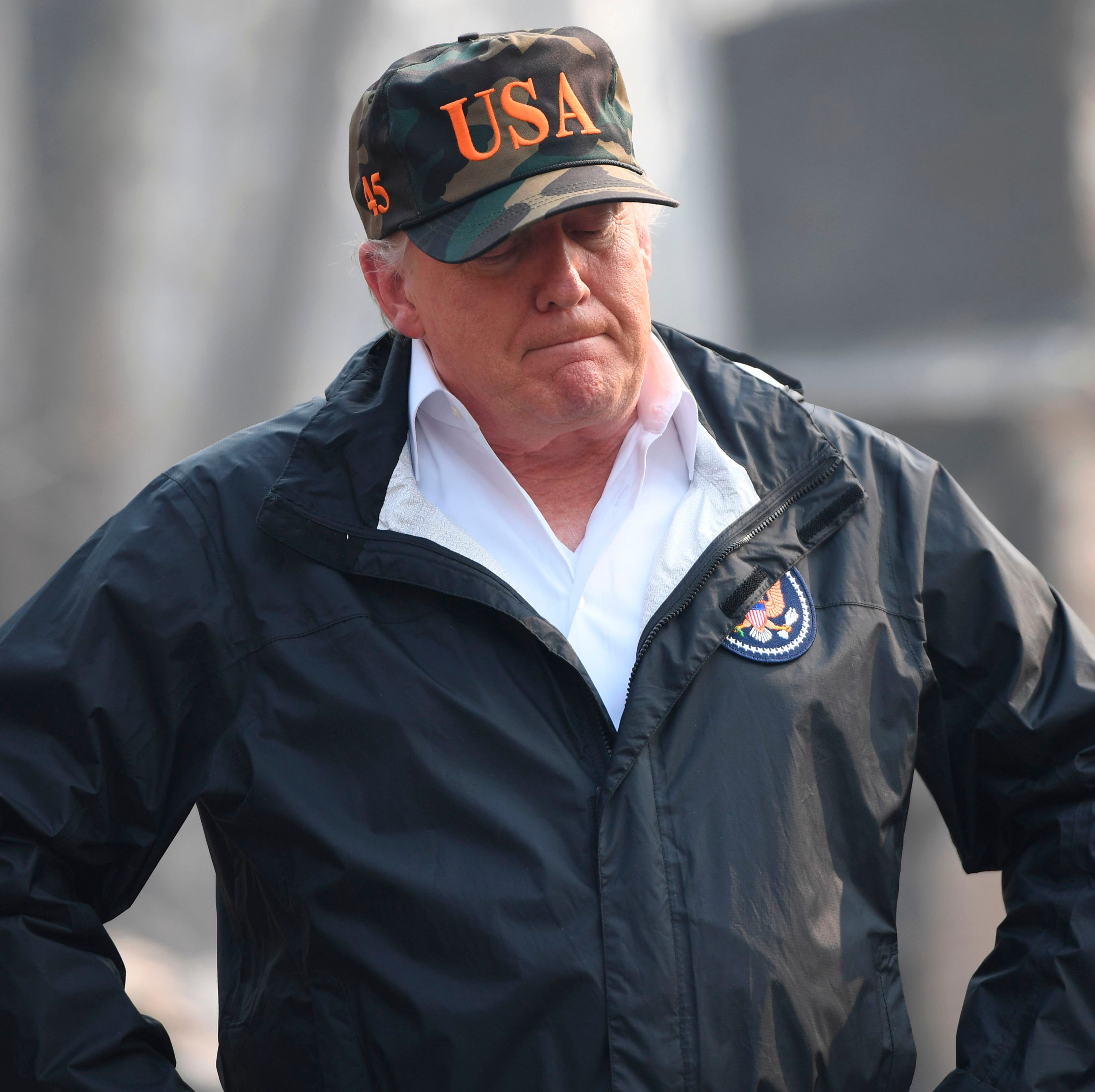 Trump's visit at Camp Fire devastation brings support, criticism after his tweets
