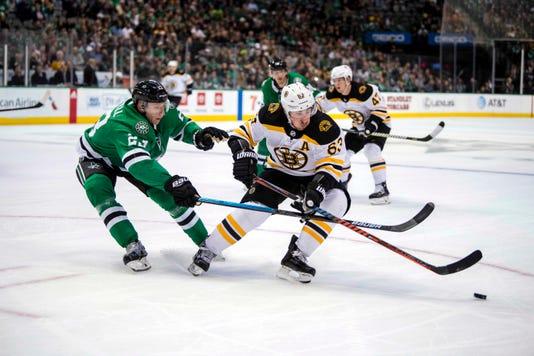 Usp Nhl Boston Bruins At Dallas Stars S Hkn Dal Bos Usa Tx