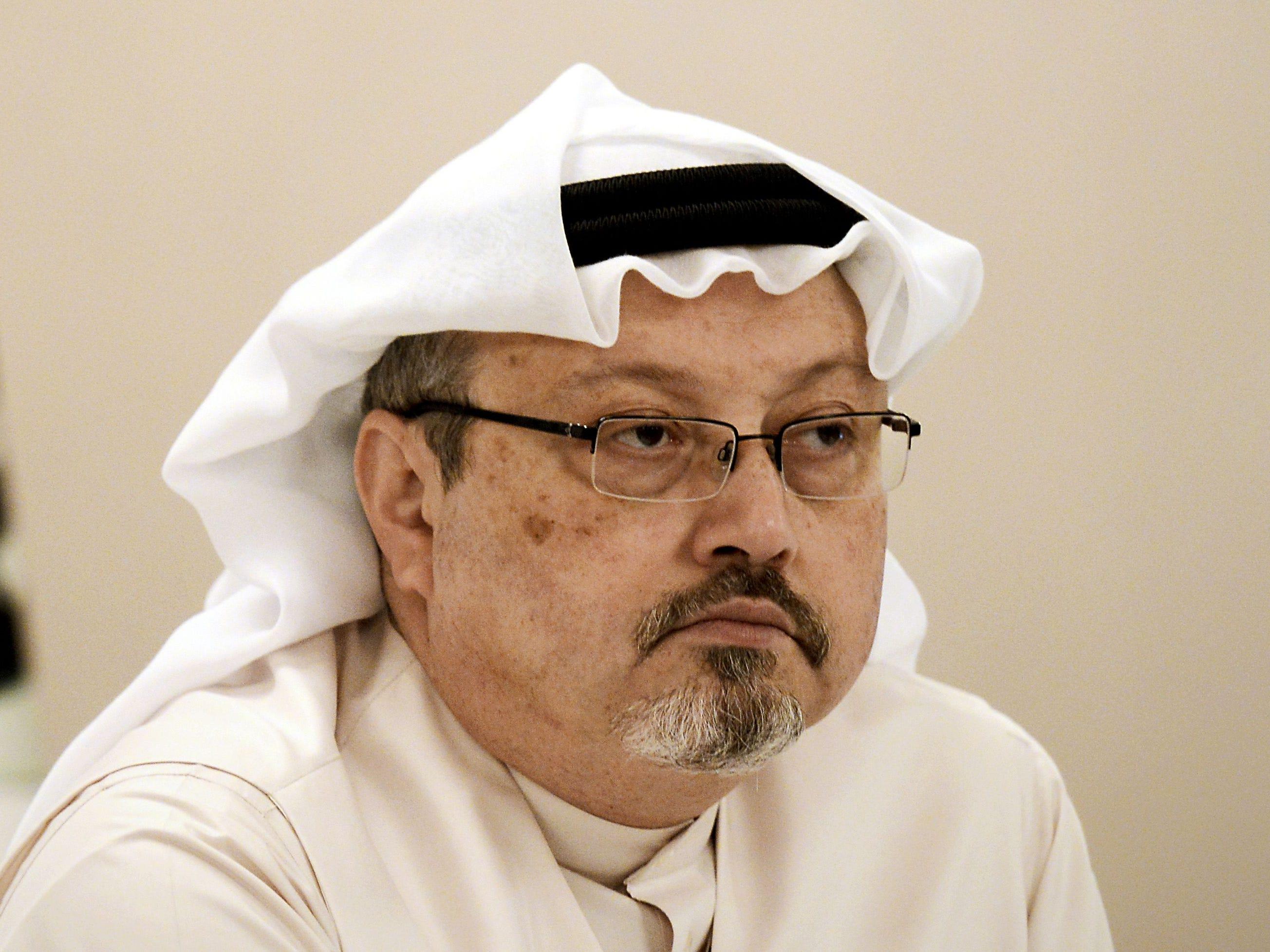 Trump: Report will confirm who caused Jamal Khashoggi's killing. CIA hasn't come to conclusion.
