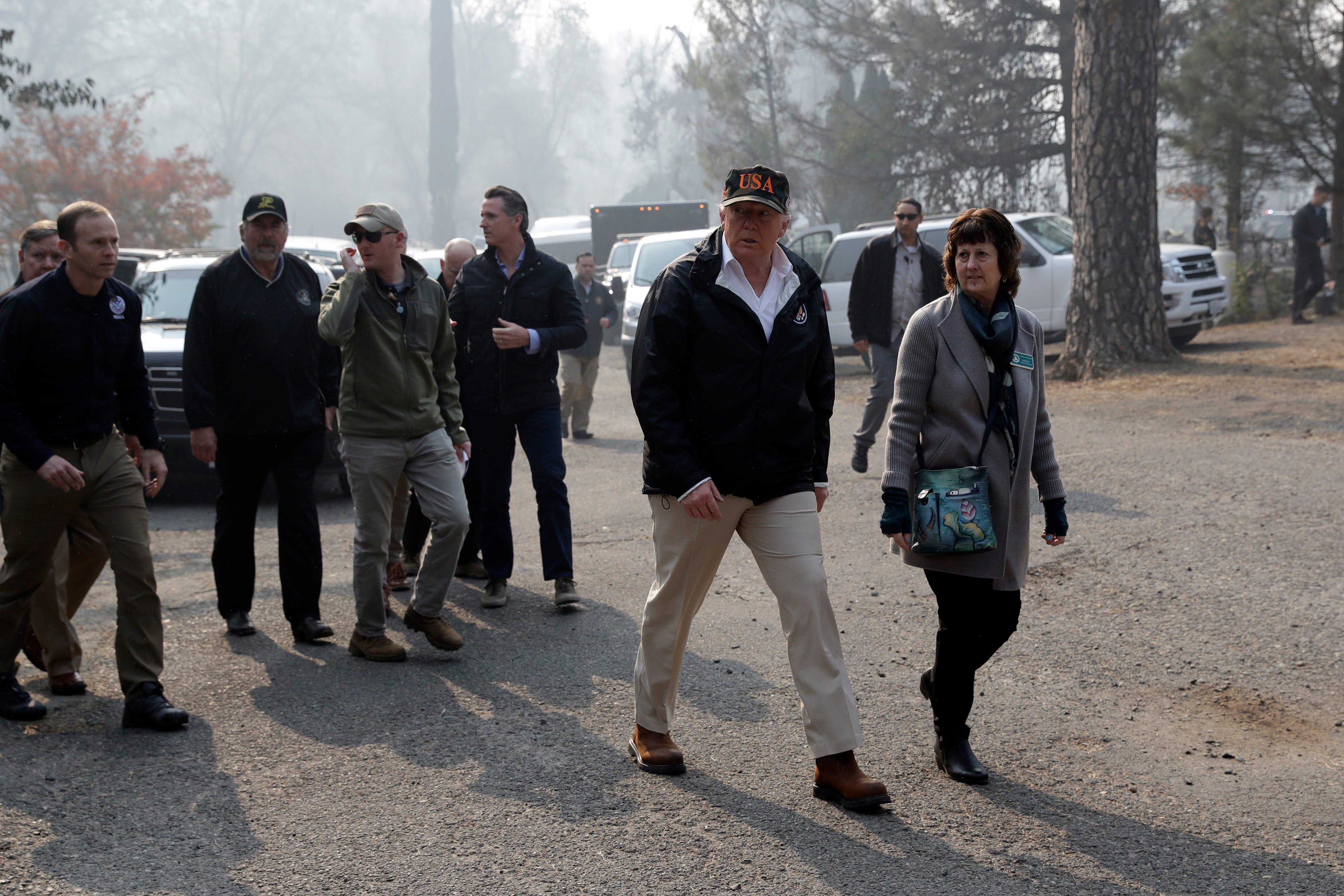Ap Trump California Wildfires A Usa Ca