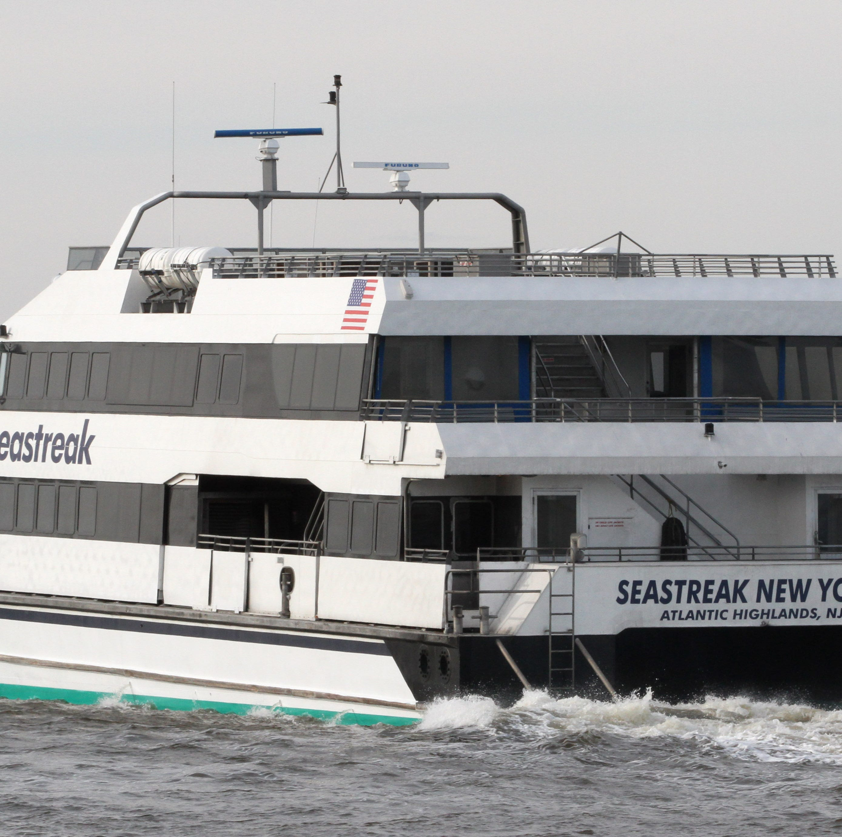 SeaStreak ferry changes course for mayday call; crew saves 4 boaters