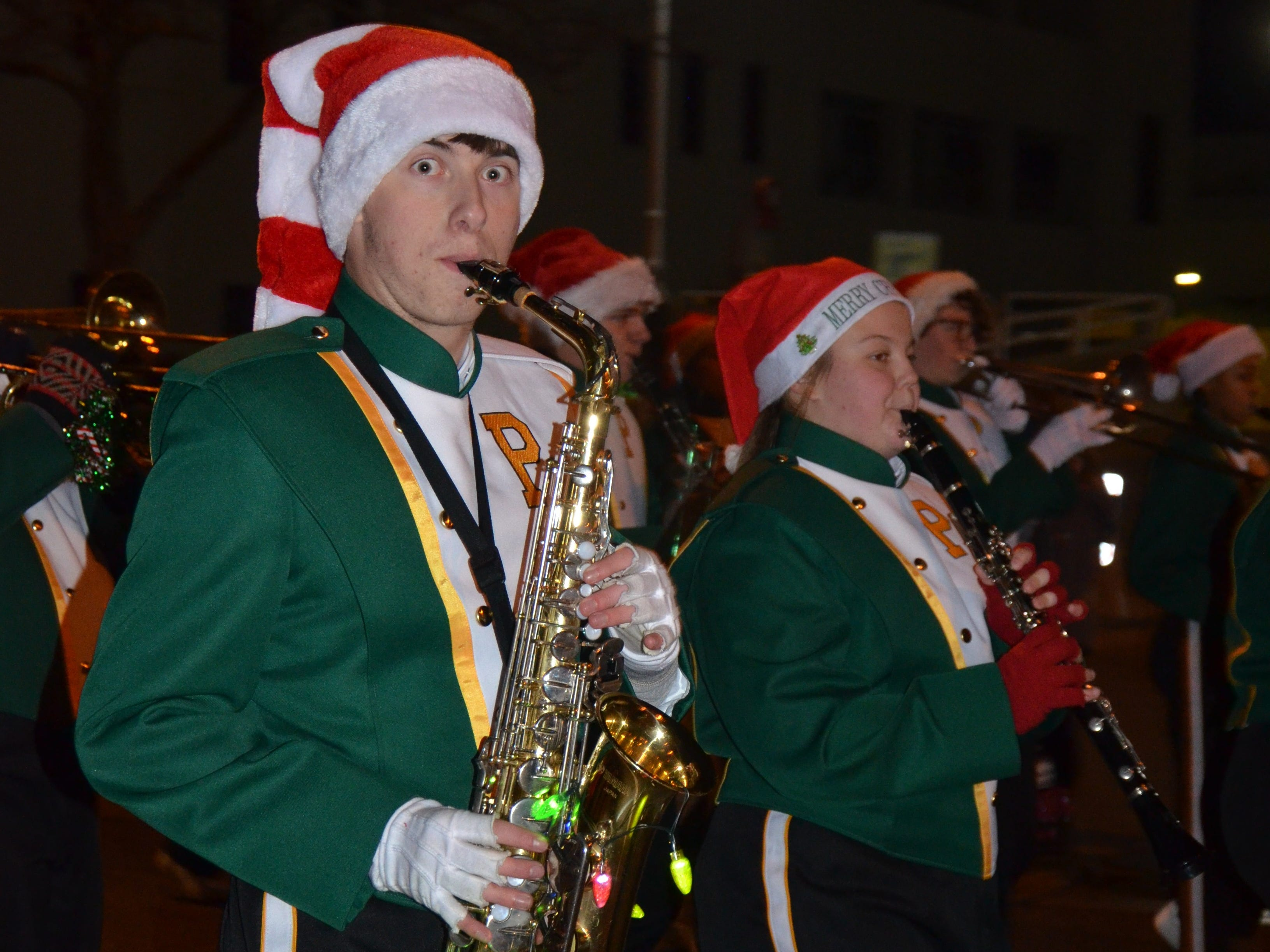The Battle Creek Christmas Parade on November 17, 2018.