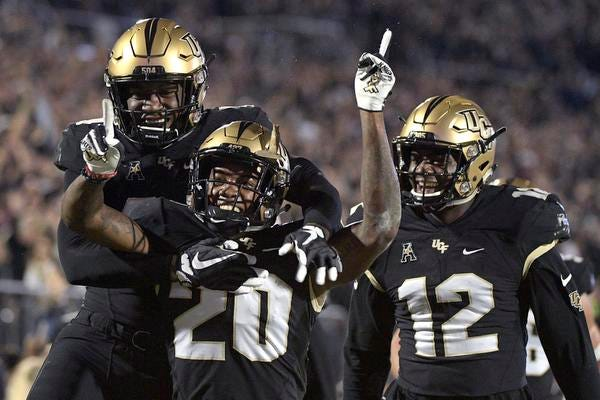 A weak strength of schedule is a lingering factor in UCF's chances of making the playoff.