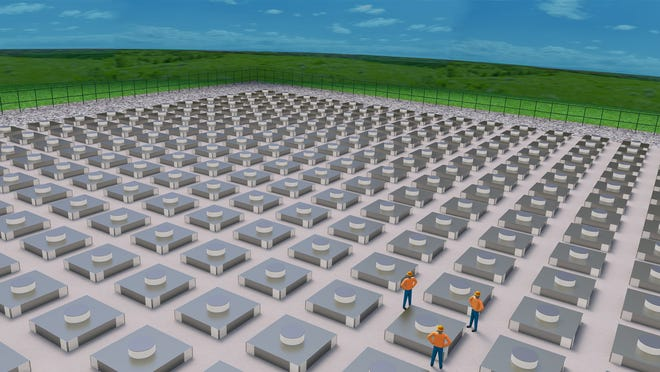 Holtec International has proposed an underground storage facility in New Mexico that would hold radioactive waste from nuclear power plants across the country.