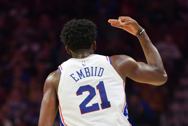 Joel Embiid of the 76ers provides plenty of personality for the sport and hockey may be trending in his direction.