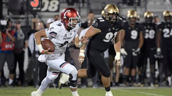Cincinnati Bearcats Routed By Ucf On Prime Time Tv