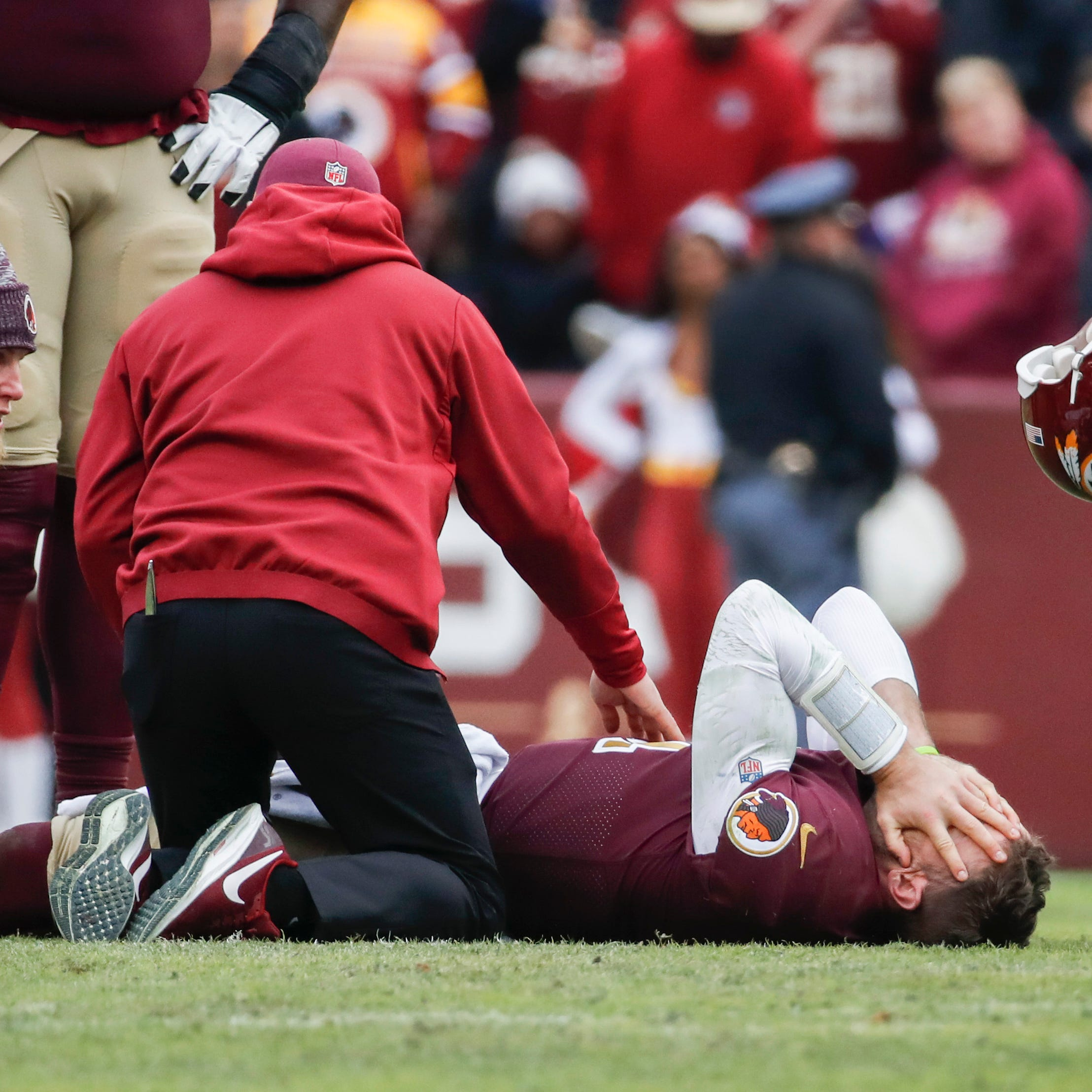Joe Theismann 'turned away' after seeing Redskins quarterback Alex Smith hurt