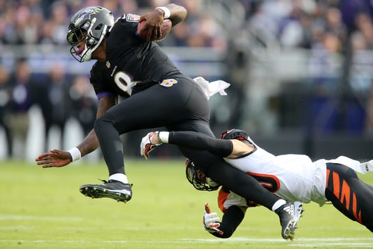 Cincinnati Bengals At Baltimore Ravens 11 18 2018