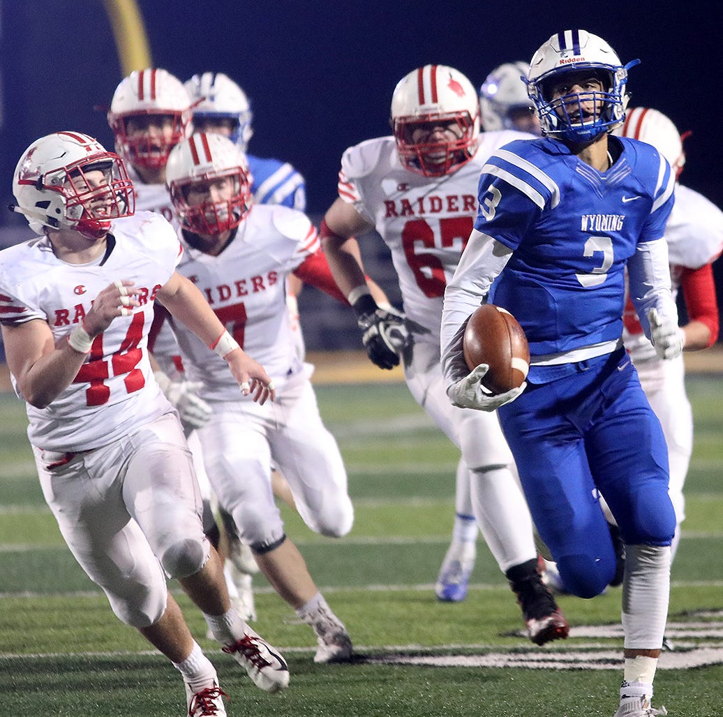 State semifinal football locations, opponents set for Colerain, Winton Woods and Wyoming