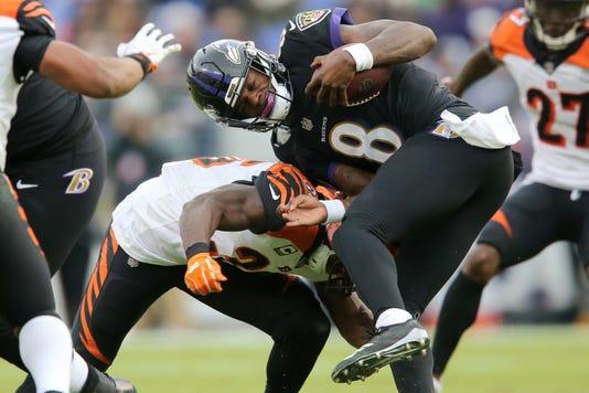 Cincinnati Bengals At Baltimore Ravens 11 18 2018