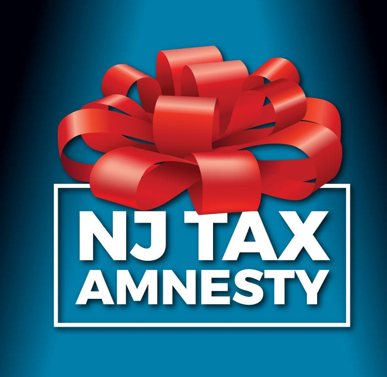 LETTER: Tax amnesty program is gift to NJ taxpayers